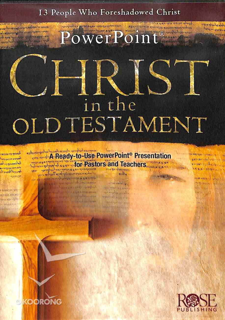 Christ in the Old Testament (Powerpoint) CD