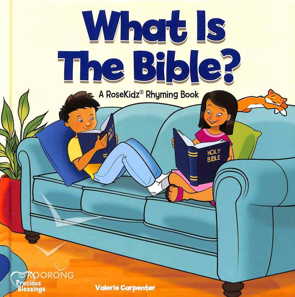 What is the Bible? (Precious Blessings Series) Hardback