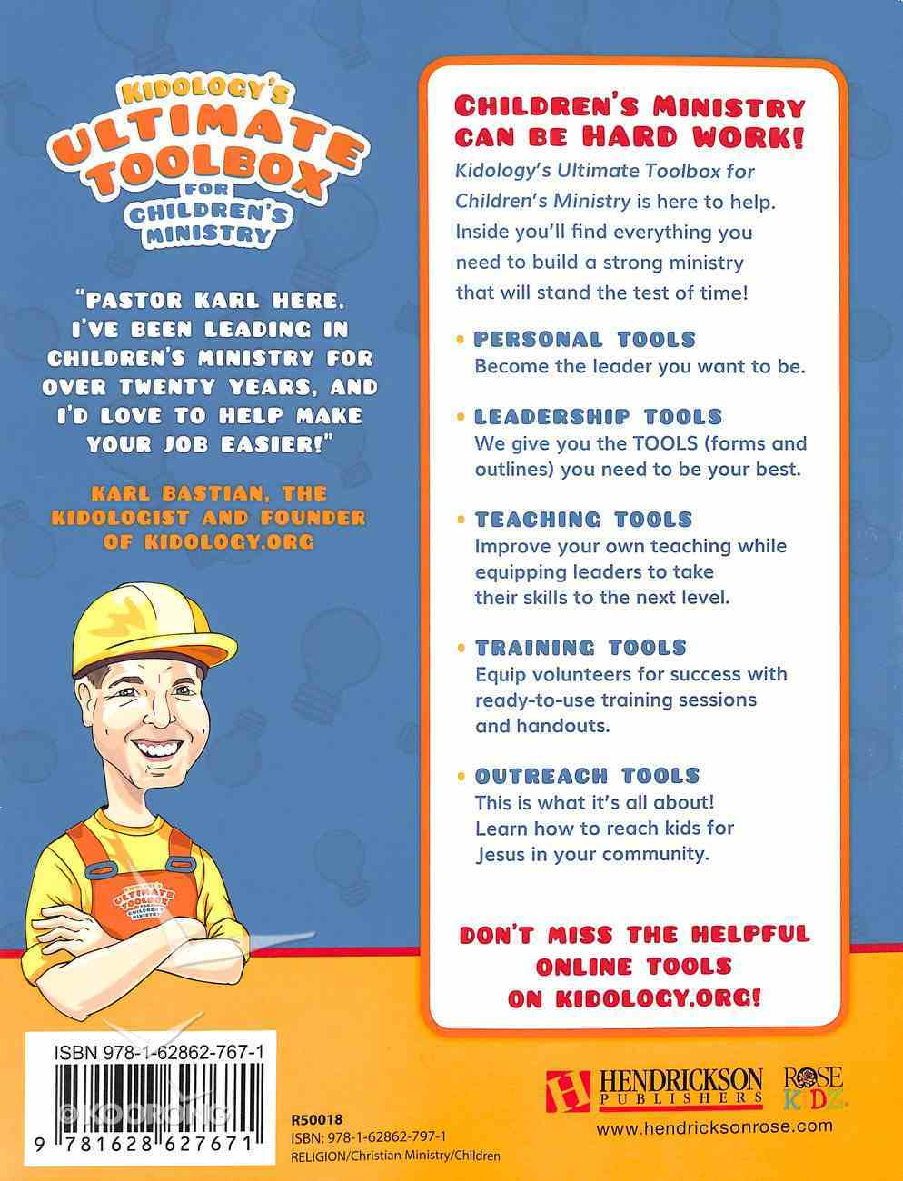 Kidology's Ultimate Toolbox For Children's Ministry Paperback