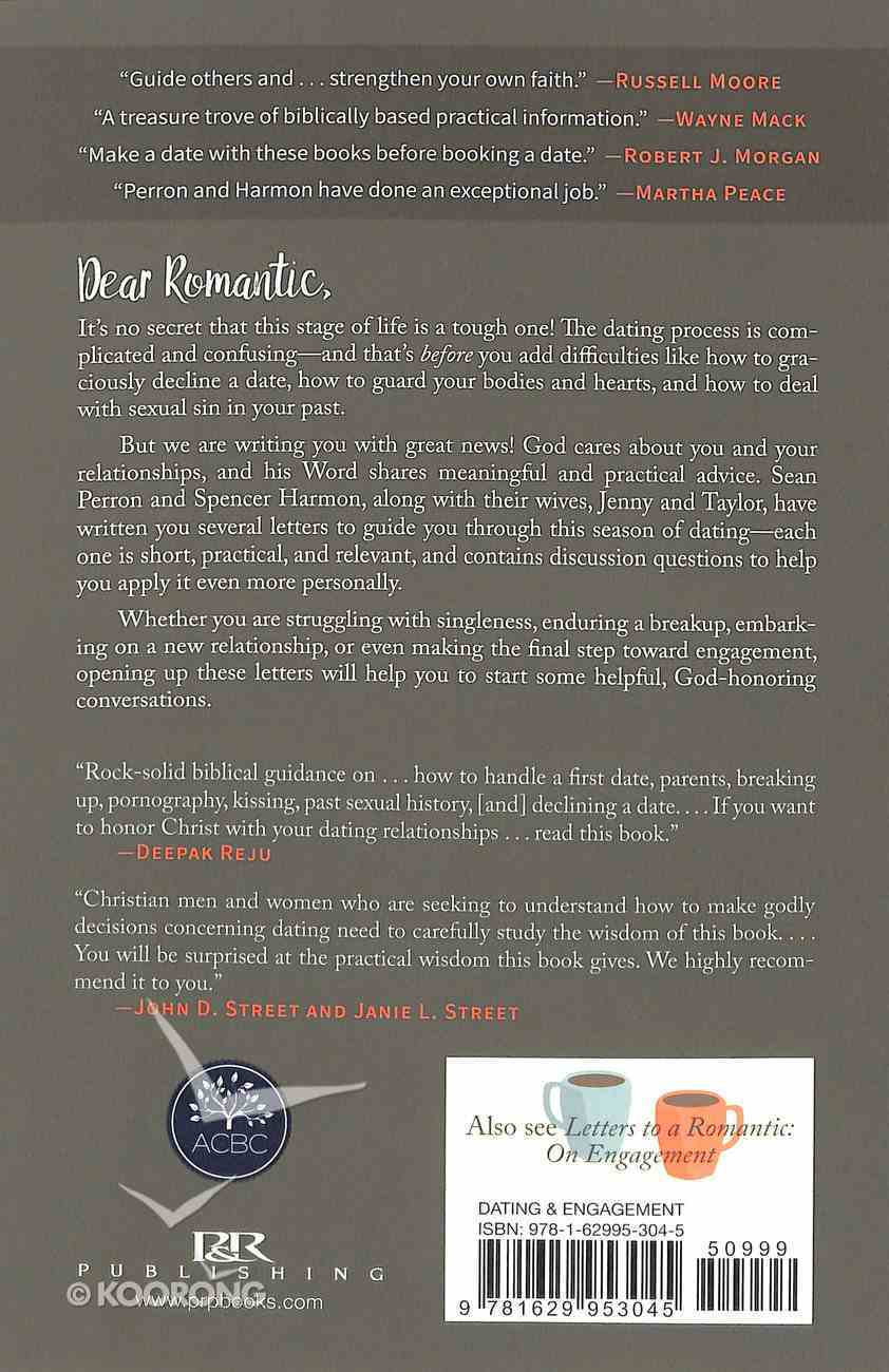 Letters to a Romantic: On Dating Paperback
