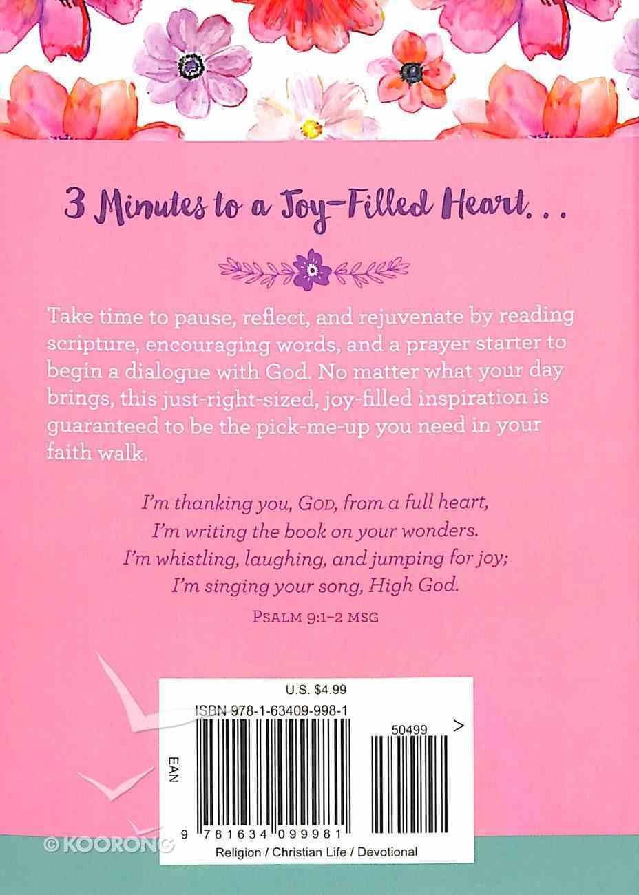 Choose Joy: 3-Minute Devotions For Women Paperback