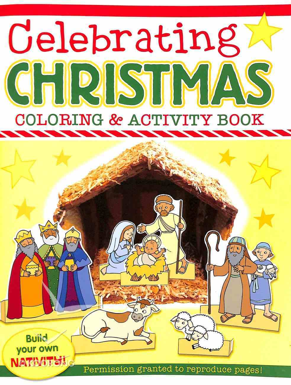 Celebrating Christmas Coloring and Activity Book Paperback