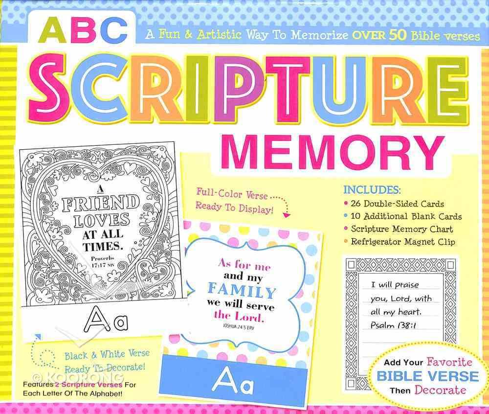 ABC Scripture Memory Boxed Set Game