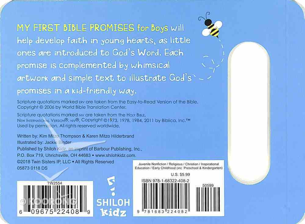 My First Bible Promises For Boys Board Book