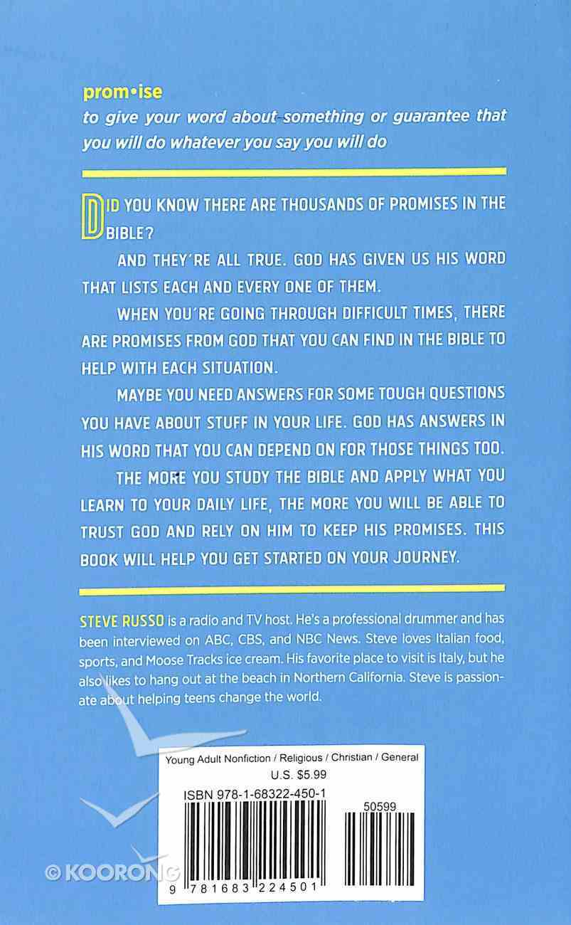 The Bible Promise Book For Teens: Timeless Answers For Tough Questions Paperback