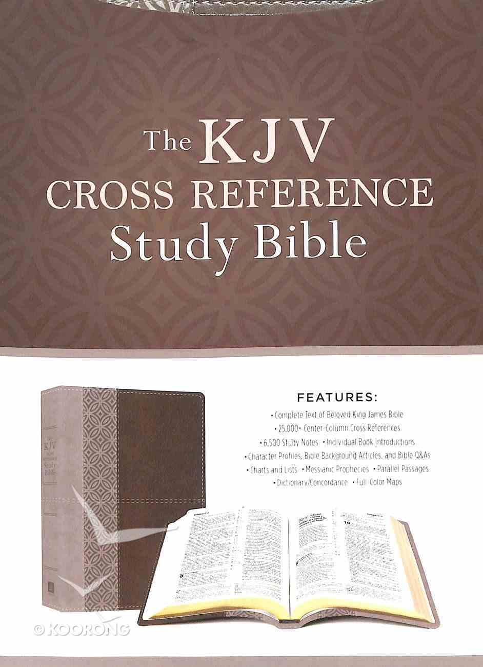 KJV Cross Reference Study Bible Stone Imitation Leather