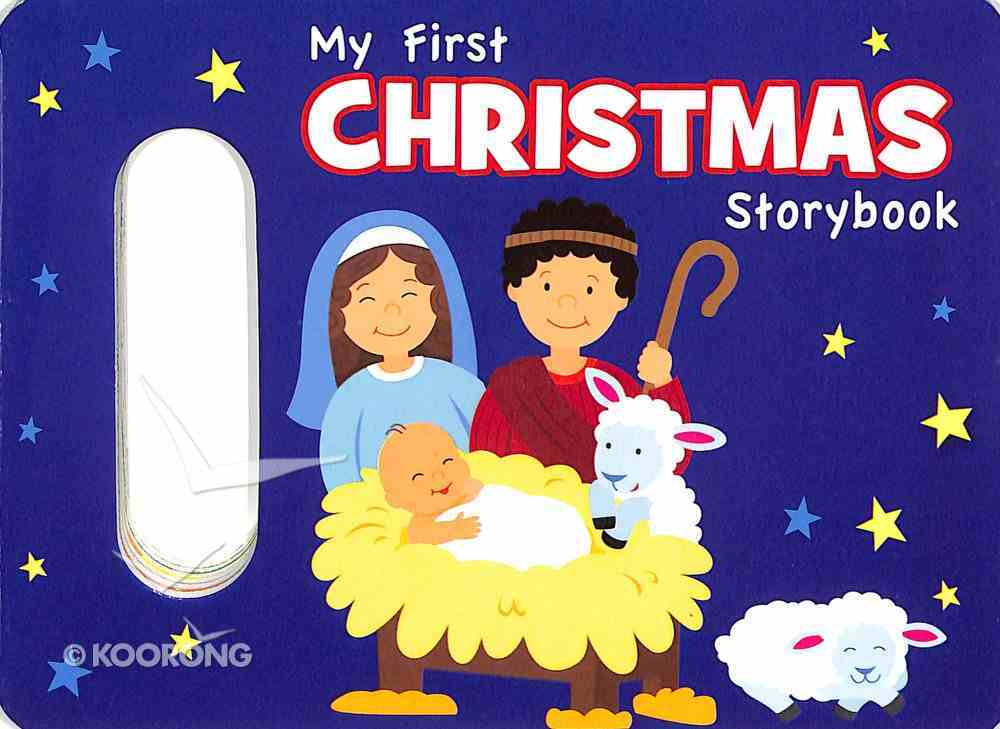 My First Christmas Storybook Board Book