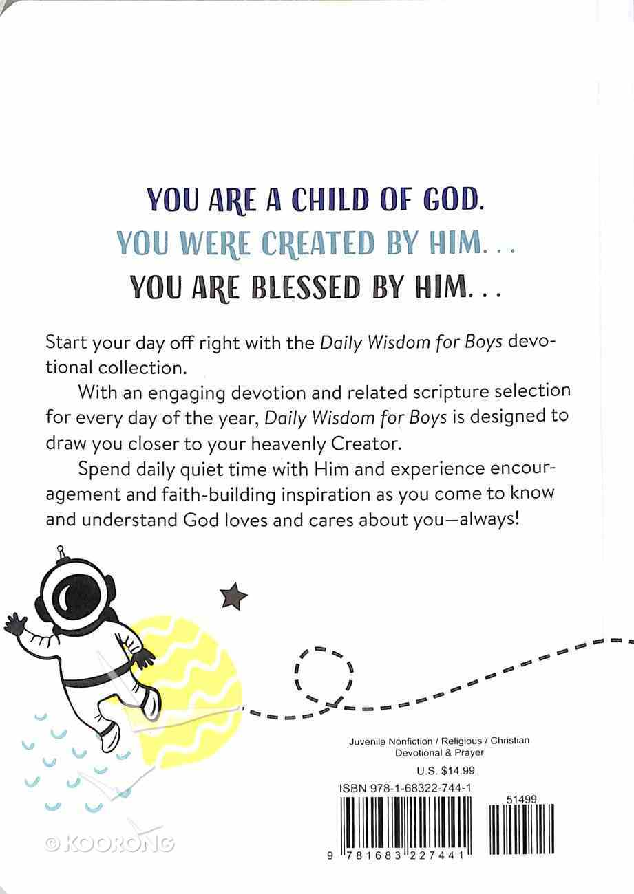 Daily Wisdom For Boys Devotional Collection Paperback