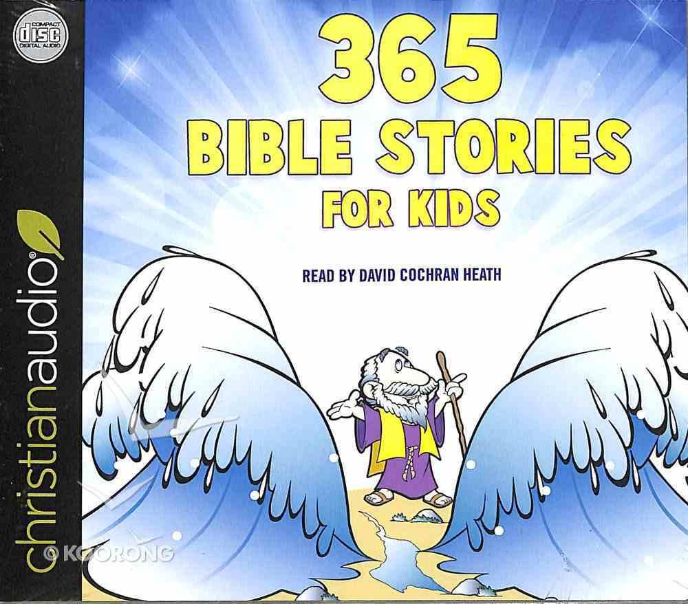 365 Read Aloud Bedtime Bible Stories CD