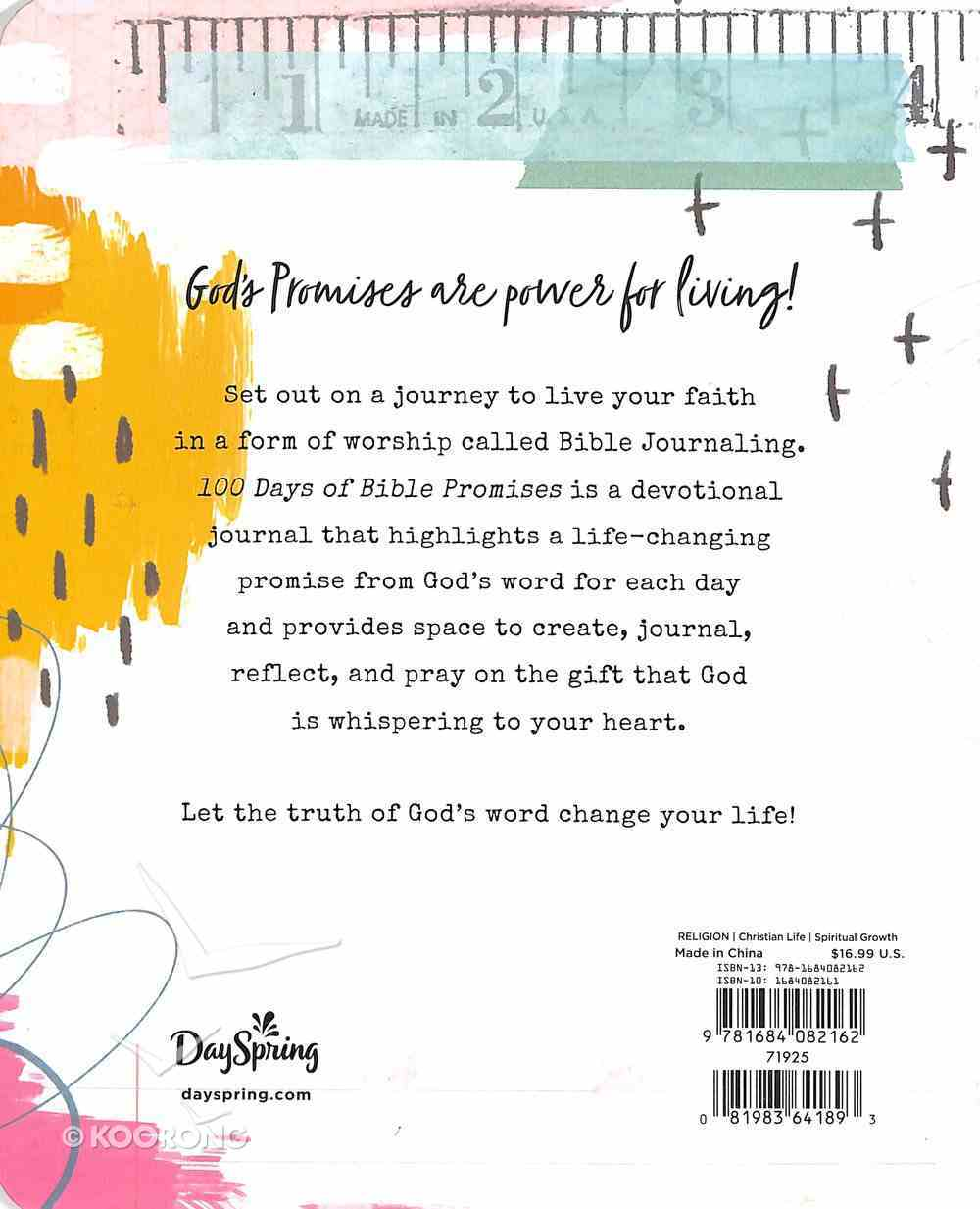 100 Days of Bible Promises: A Devotional Journal Hardback