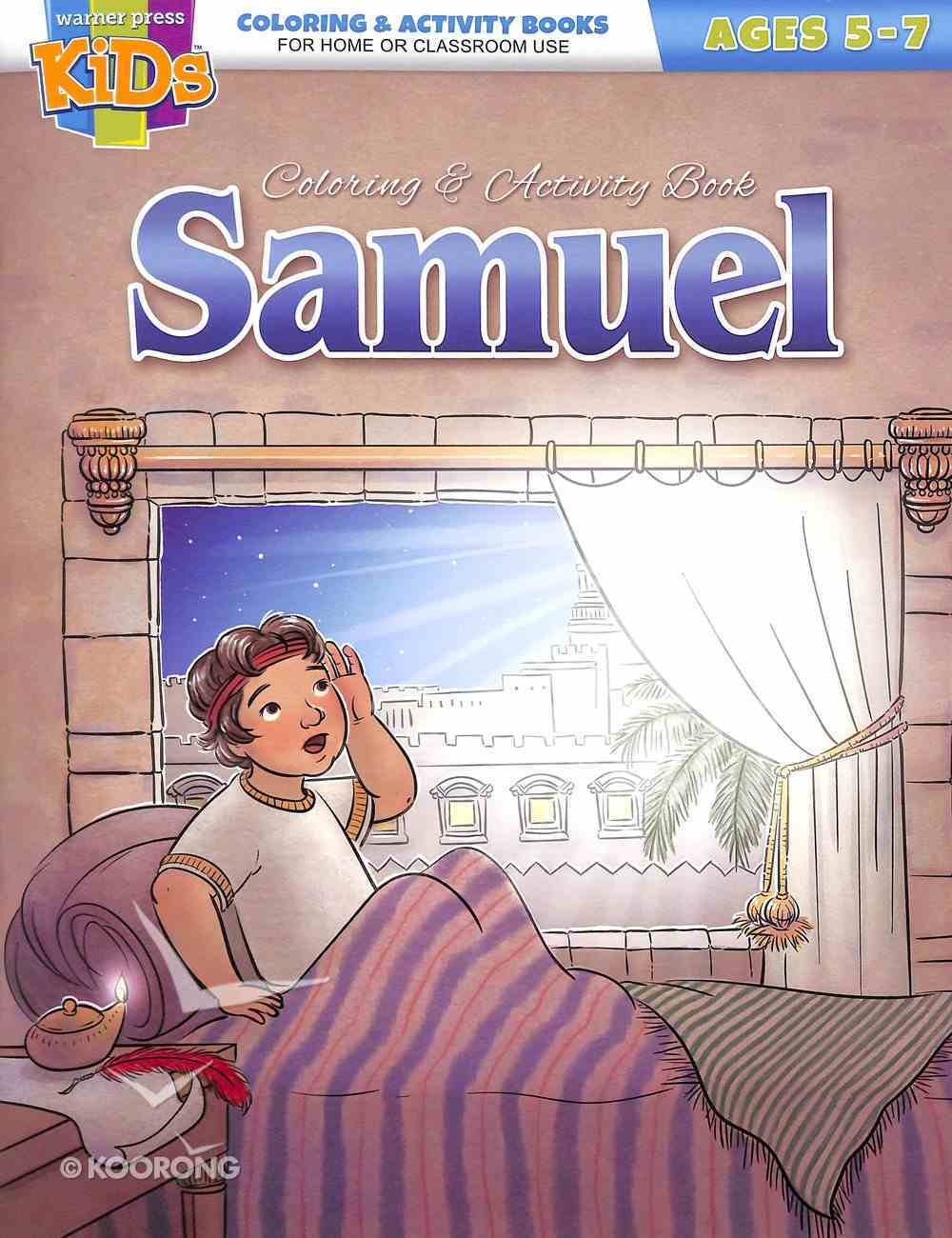 Samuel (Ages 5-7 Reproducible) (Warner Press Colouring & Activity Books Series) Paperback