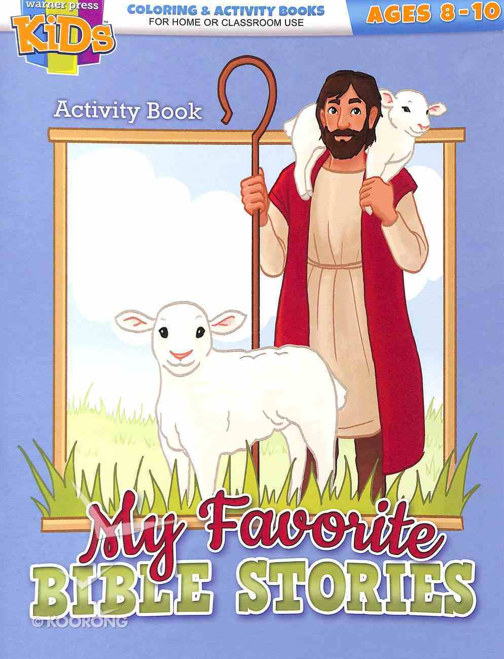 My Favorite Bible Stories (Ages 8-10 Reproducible) (Warner Press Colouring & Activity Books Series) Paperback