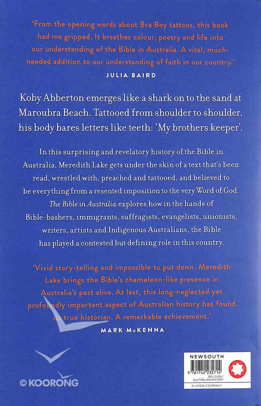 The Bible in Australia: A Cultural History Paperback