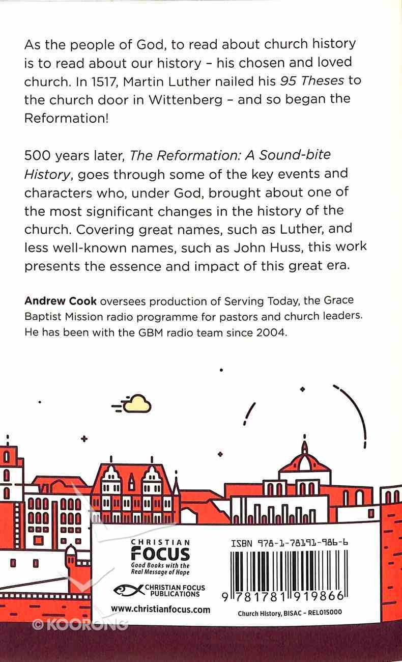 The Reformation: A Soundbite History Paperback
