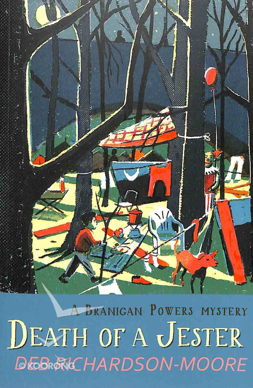 Death of a Jester (#03 in A Branigan Powers Mystery Series) Paperback