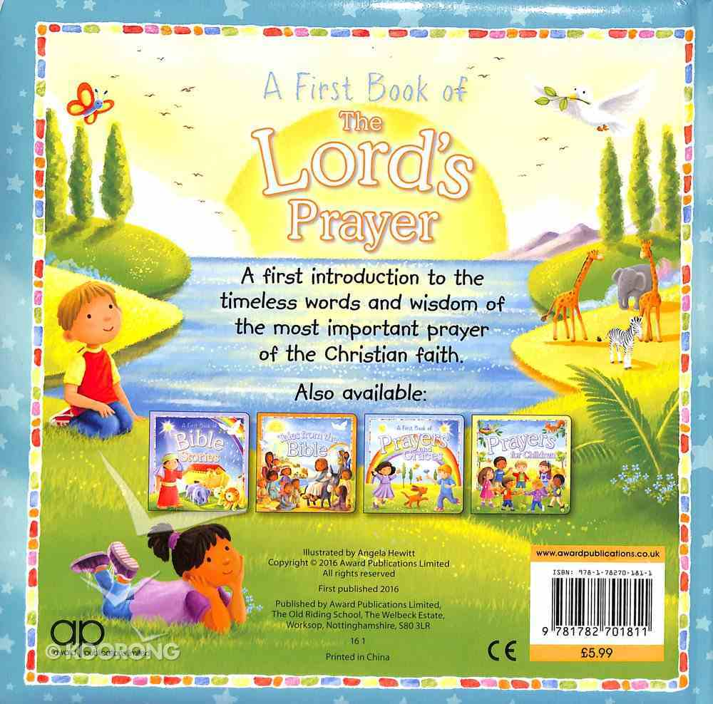 First Book of the Lord's Prayer Padded Board Book