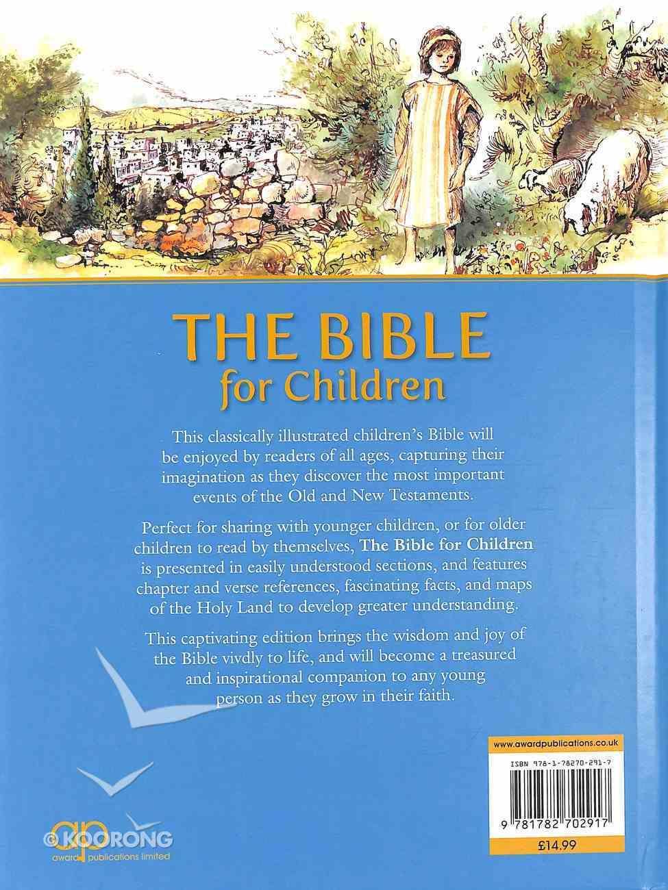 Bible For Children Hardback