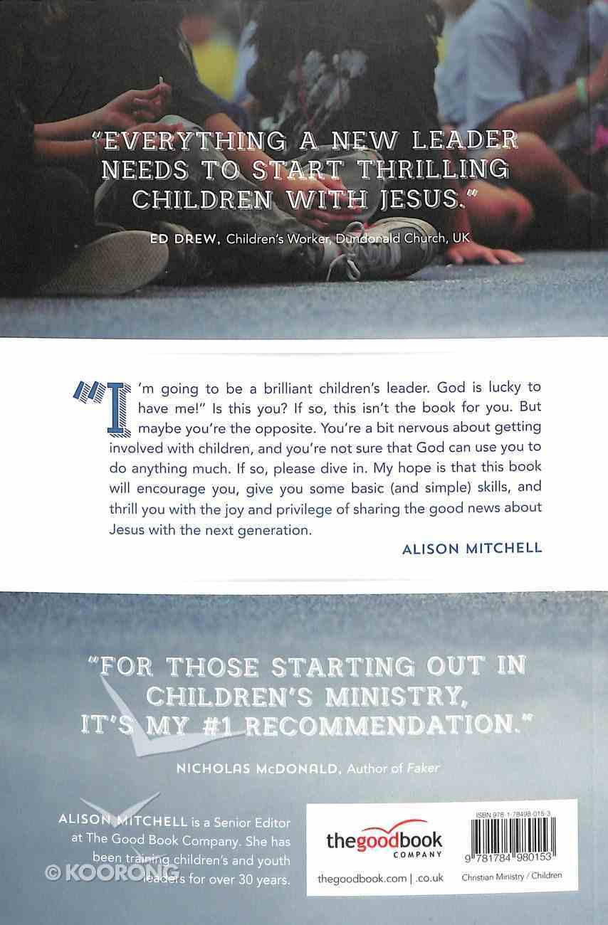 Starting Out in Children's Ministry Paperback