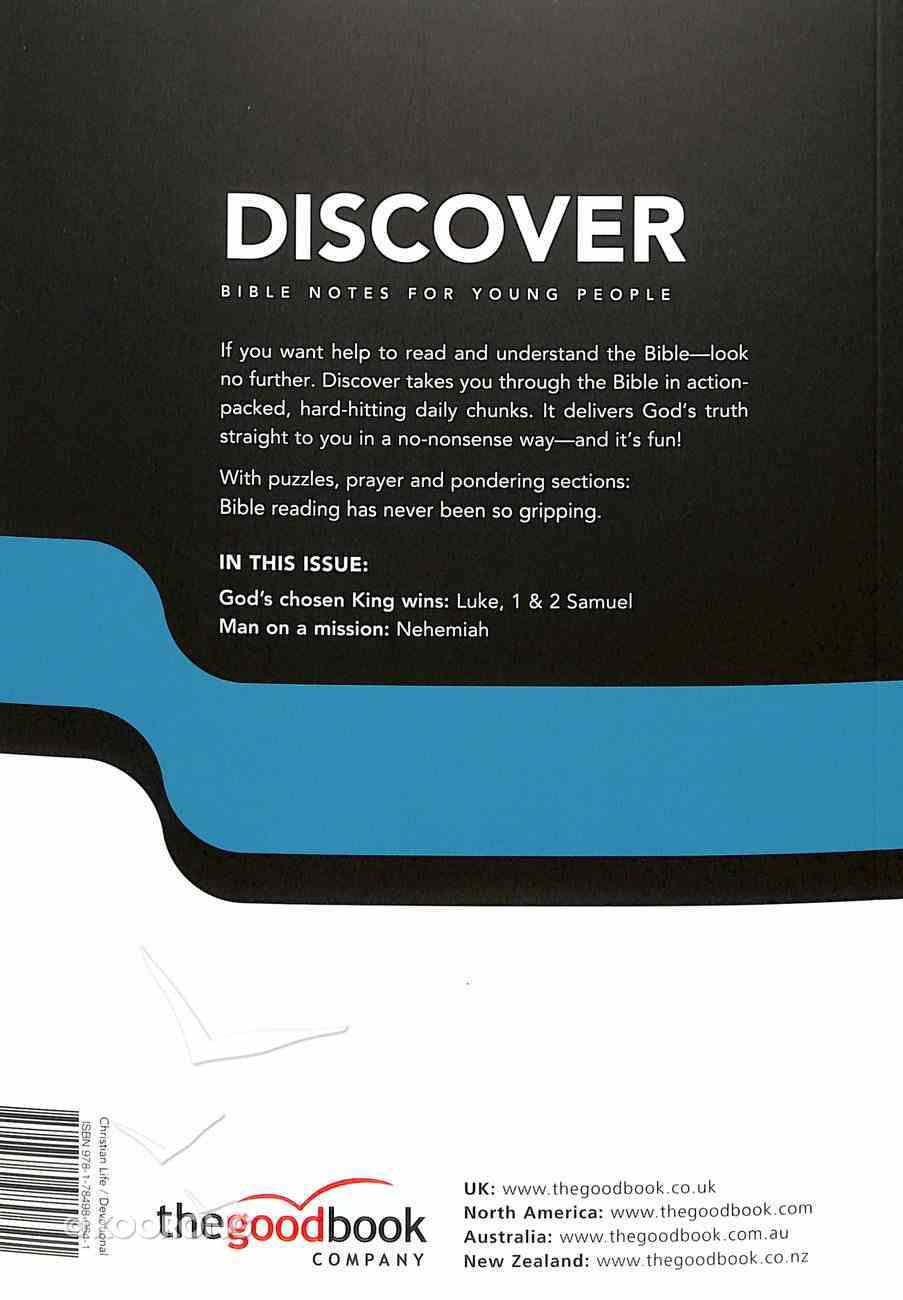 1 Samuel, 2 Samuel, Nehemiah, Luke (#12 in Discover Bible Notes For Young People Series) Paperback