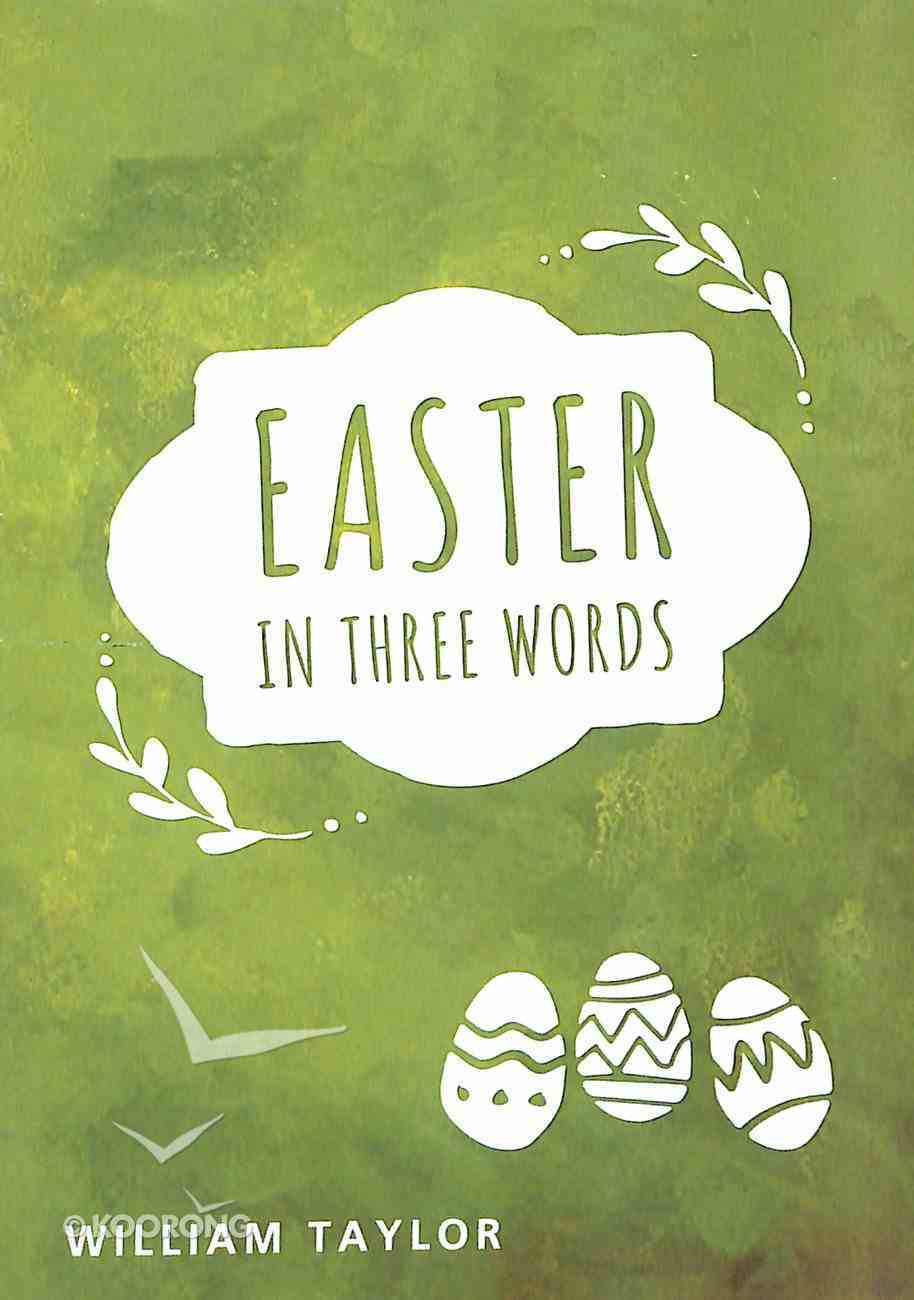 Easter in Three Words Booklet