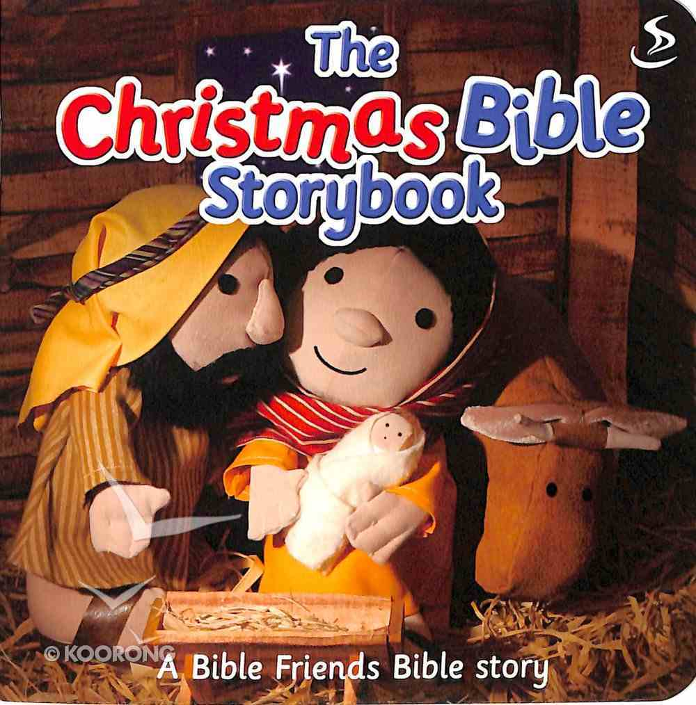 The Christmas Bible Storybook (Bible Friends Series) Paperback
