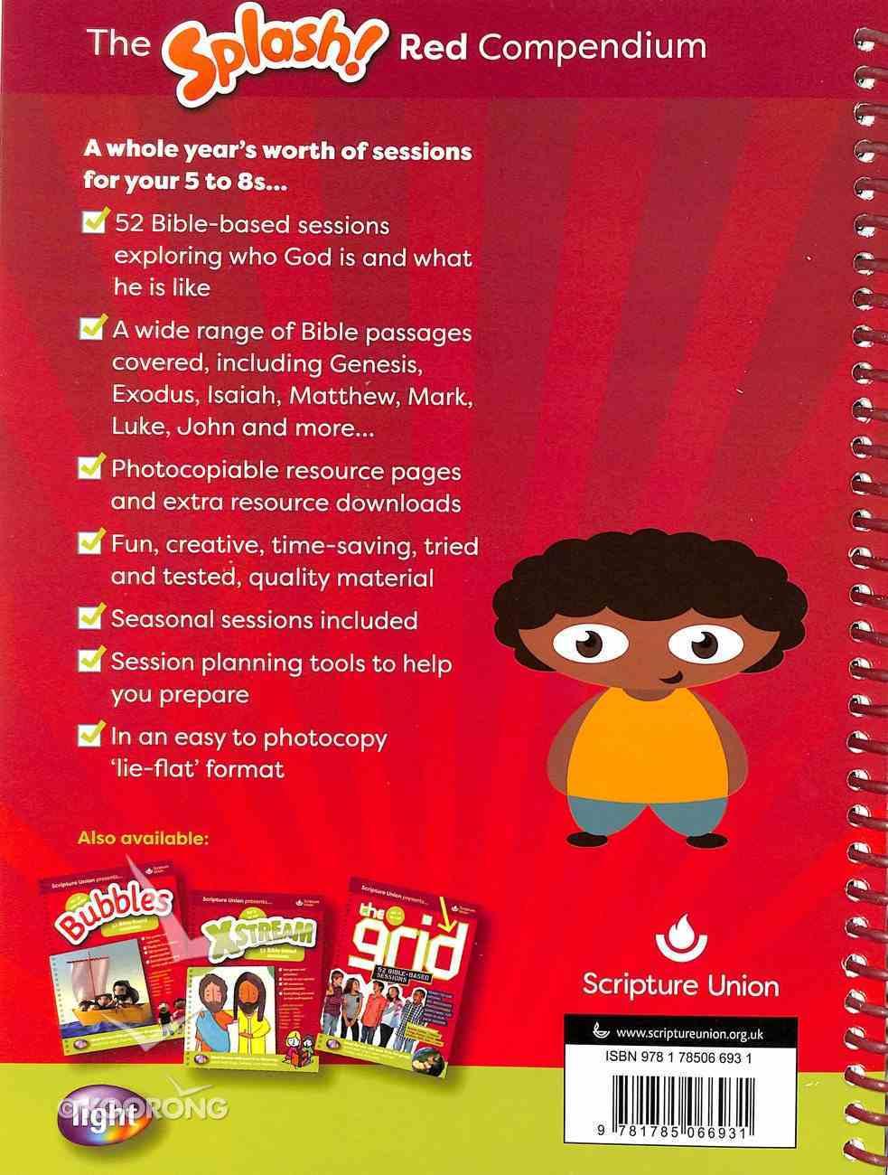 Light: Splash Red Compendium (5-8 Yrs) Spiral