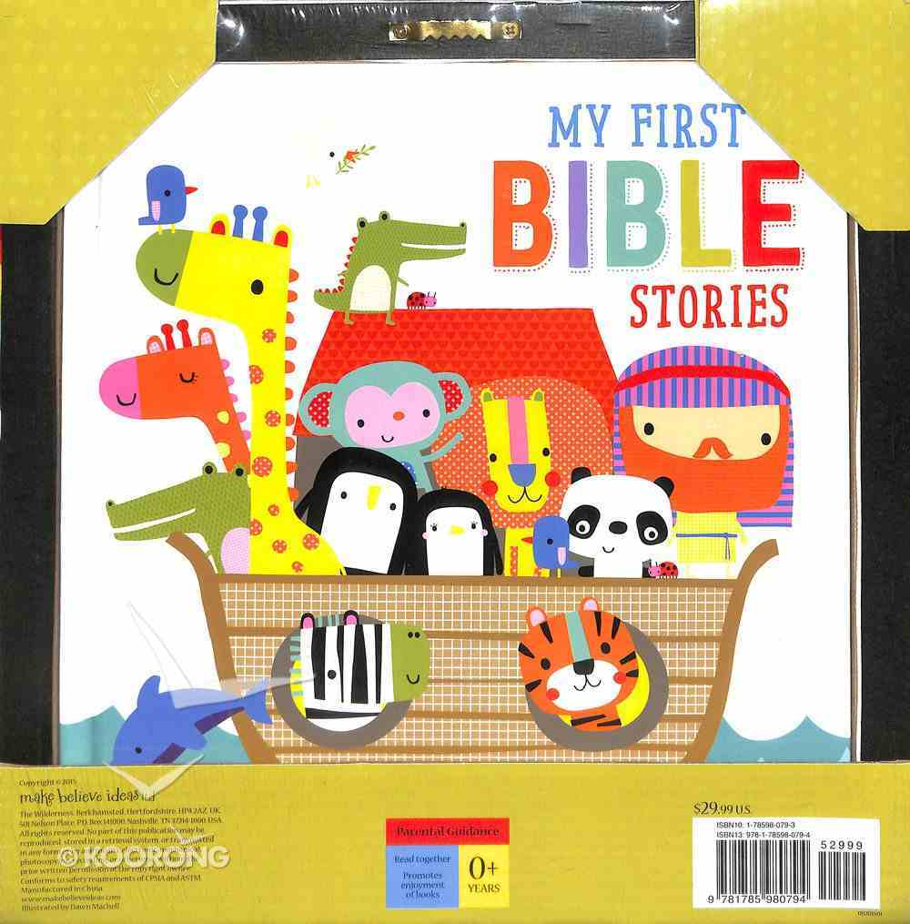 My First Bible Stories Canvas and Book Board Book