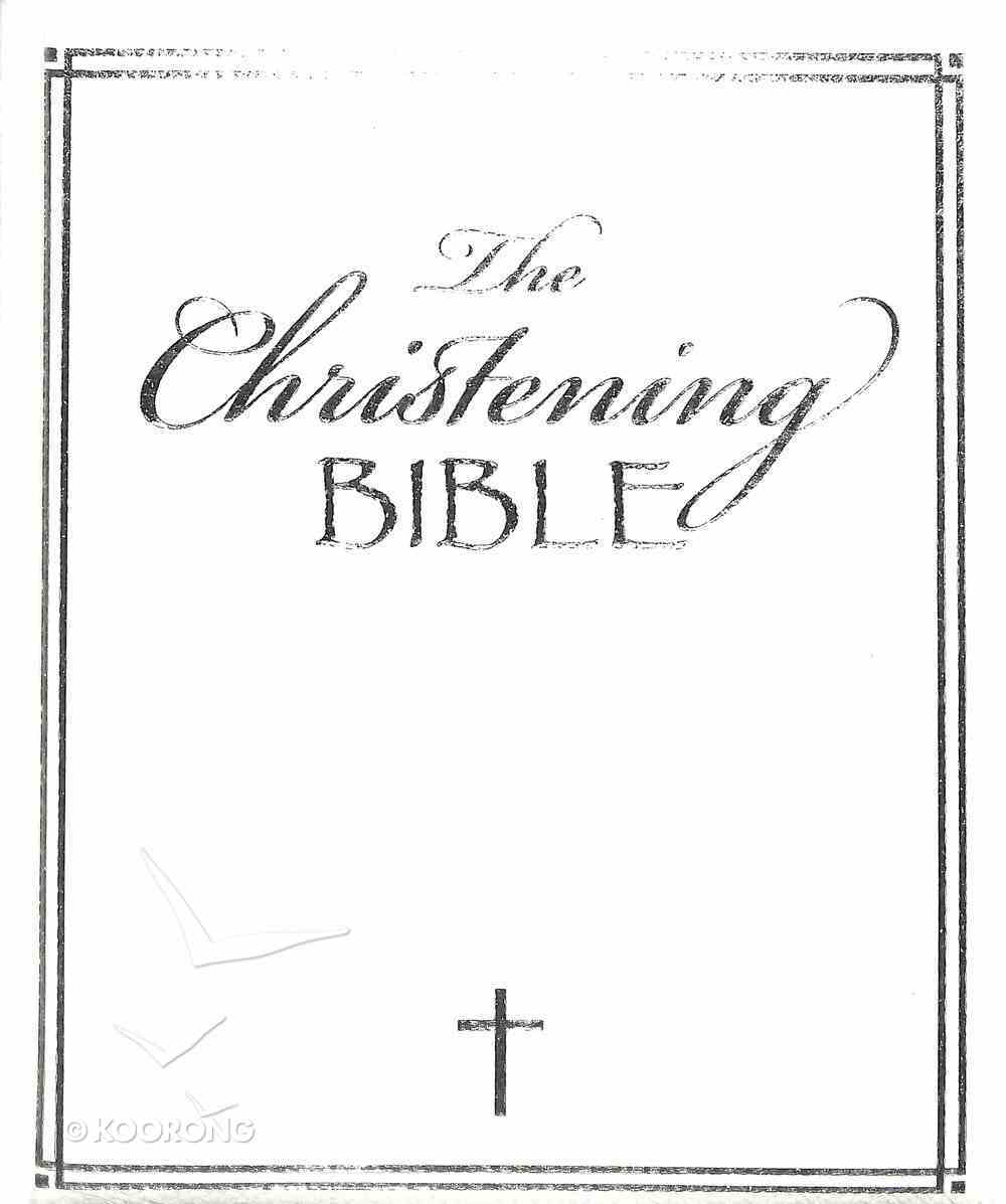 The Christening Bible Imitation Leather