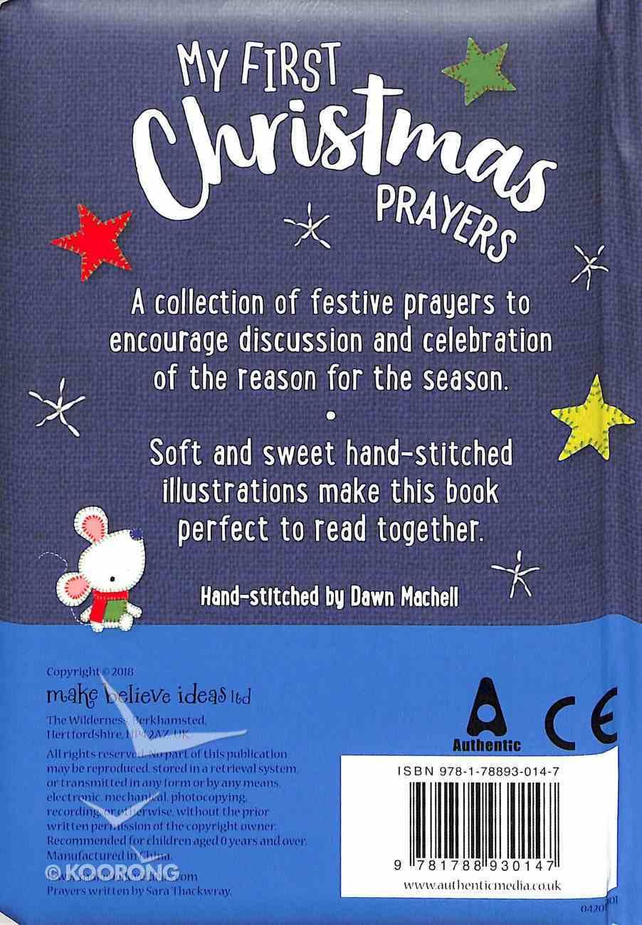 My First Christmas Prayers Padded Board Book