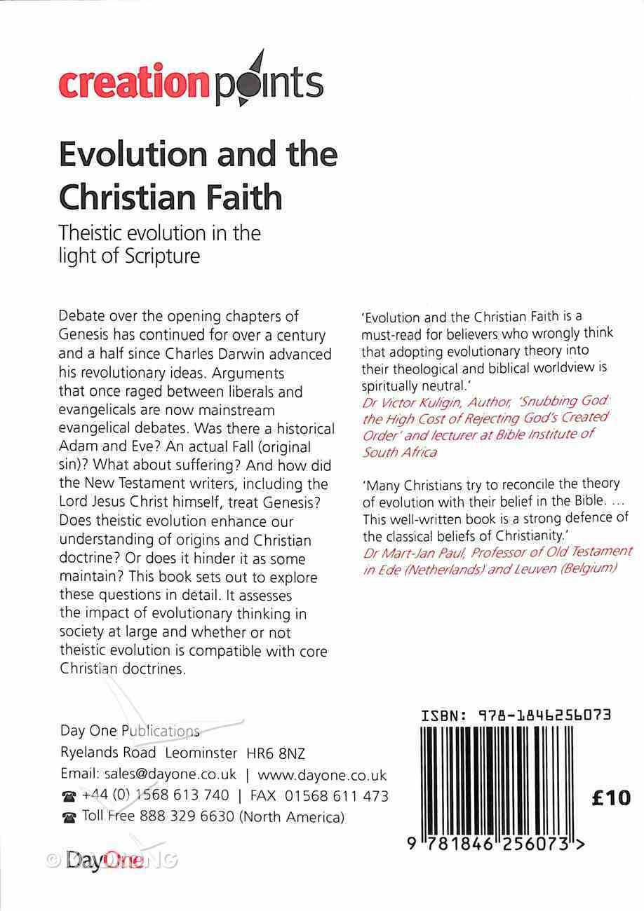 Cpoints: Evolution and the Christian Faith: Theistic Evolution in the Light of Scripture Paperback