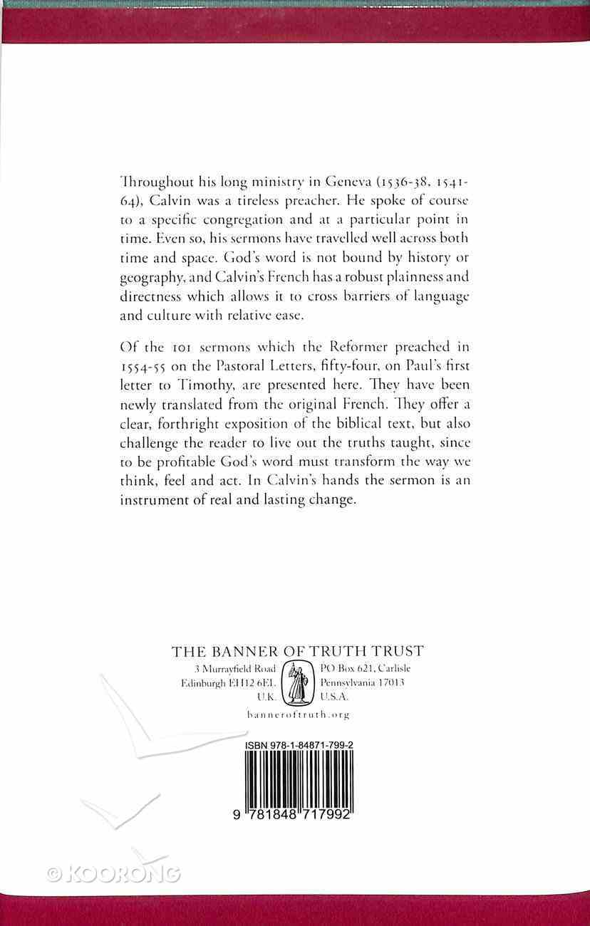 Sermons on 1 Timothy Hardback