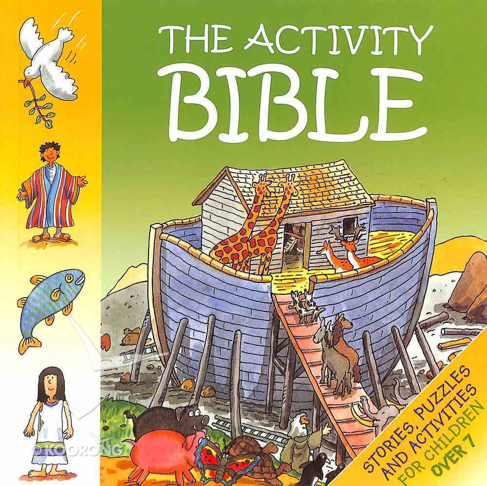The Activity Bible (For Over 7's) Paperback
