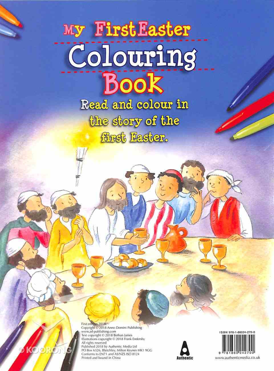 My First Easter Colouring Book Paperback