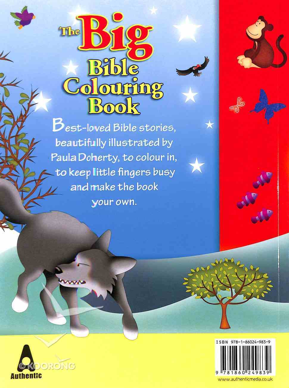 The Big Bible Colouring Book Paperback