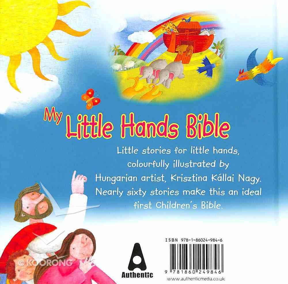 My Little Hands Bible Hardback