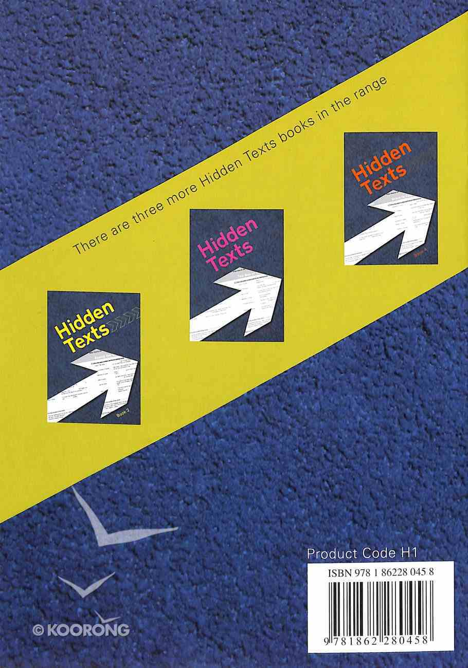 Hidden Texts (KJV) (#01 in Hidden Texts Series) Paperback