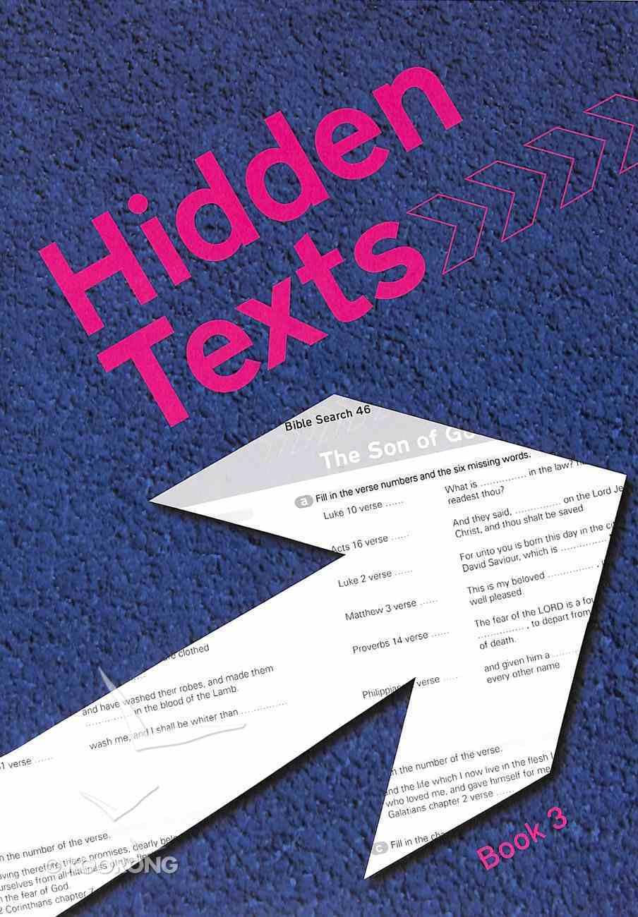 Hidden Texts (KJV) (#03 in Hidden Texts Series) Paperback