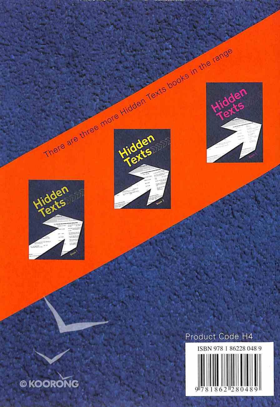 Hidden Texts (KJV) (#04 in Hidden Texts Series) Paperback