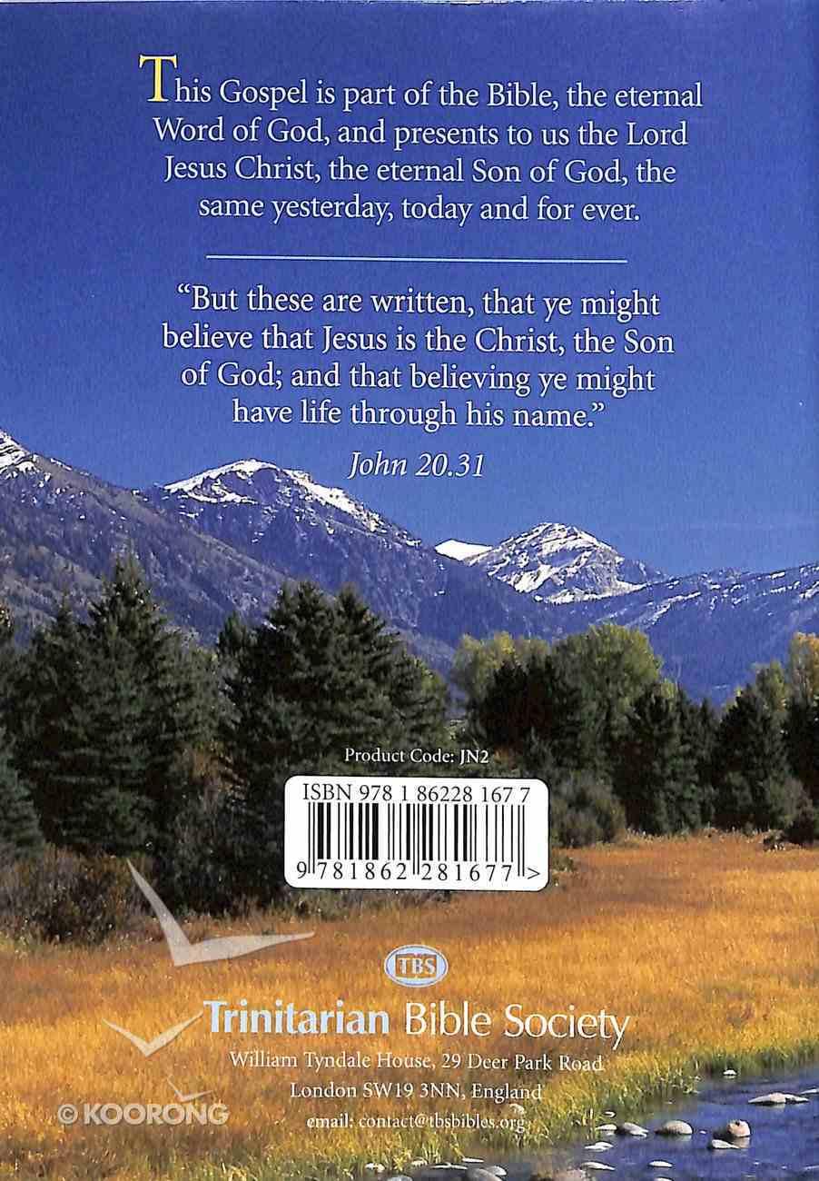 KJV John's Gospel (Black Letter Edition) Paperback