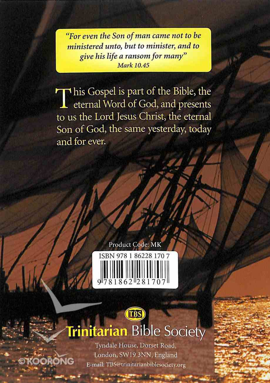 KJV Mark's Gospel (Black Letter Edition) Paperback