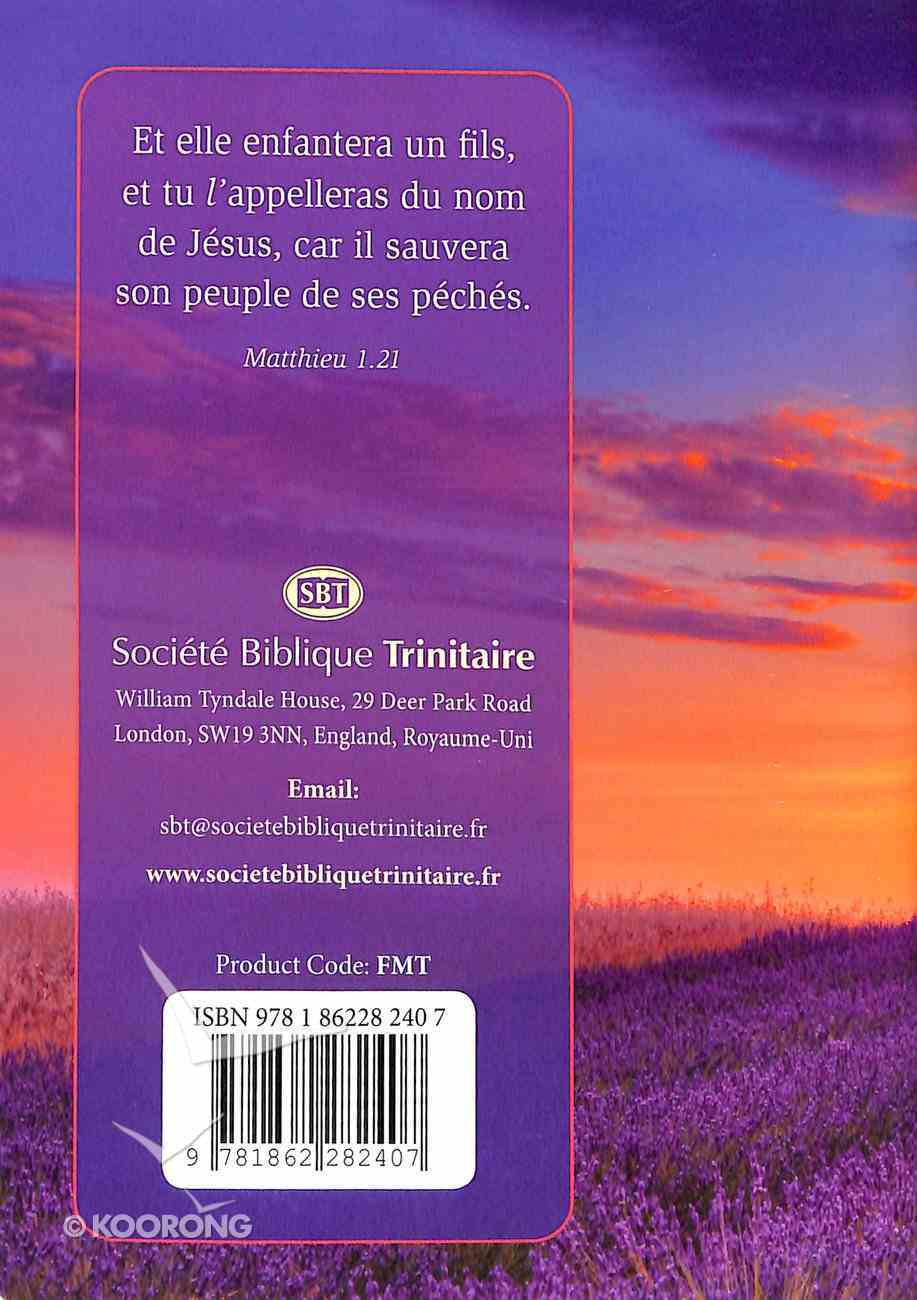French Gospel According to Matthew (Black Letter Edition) Paperback
