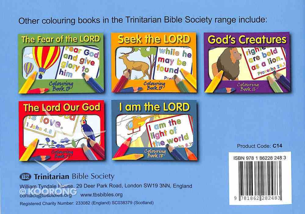 Word of God (#14 in Outline Texts For Colouring Series) Paperback