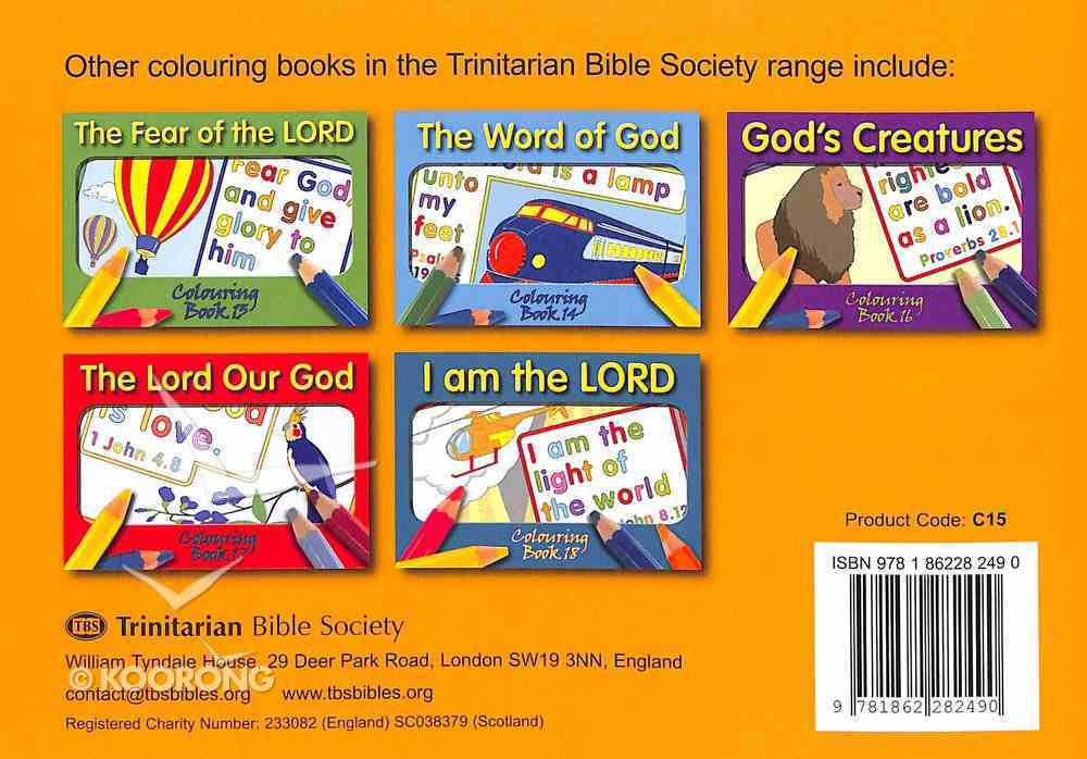 Seek the Lord (#15 in Outline Texts For Colouring Series) Paperback