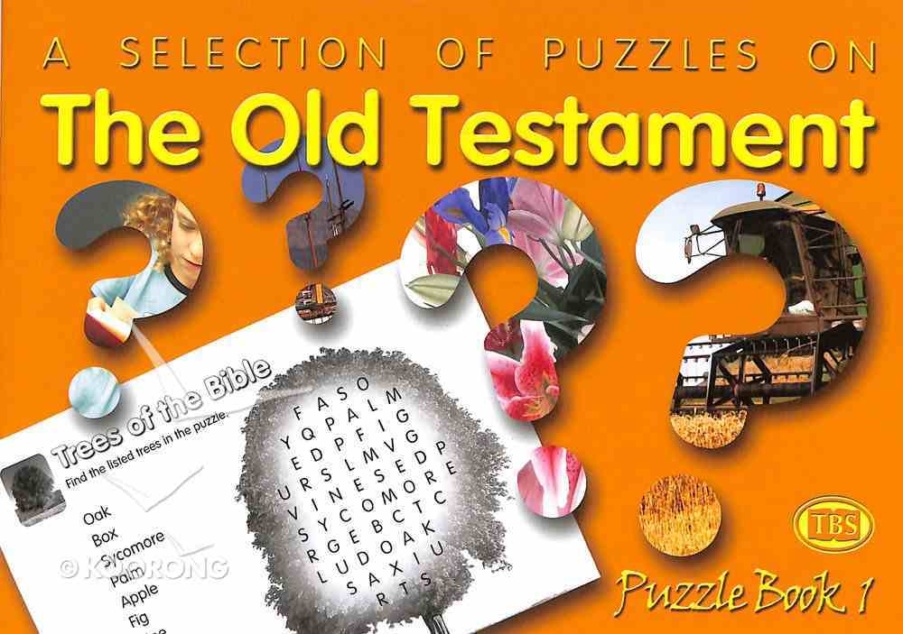 Puzzles on the Old Testament (#01 in Trinitarian Puzzle Book Series) Paperback