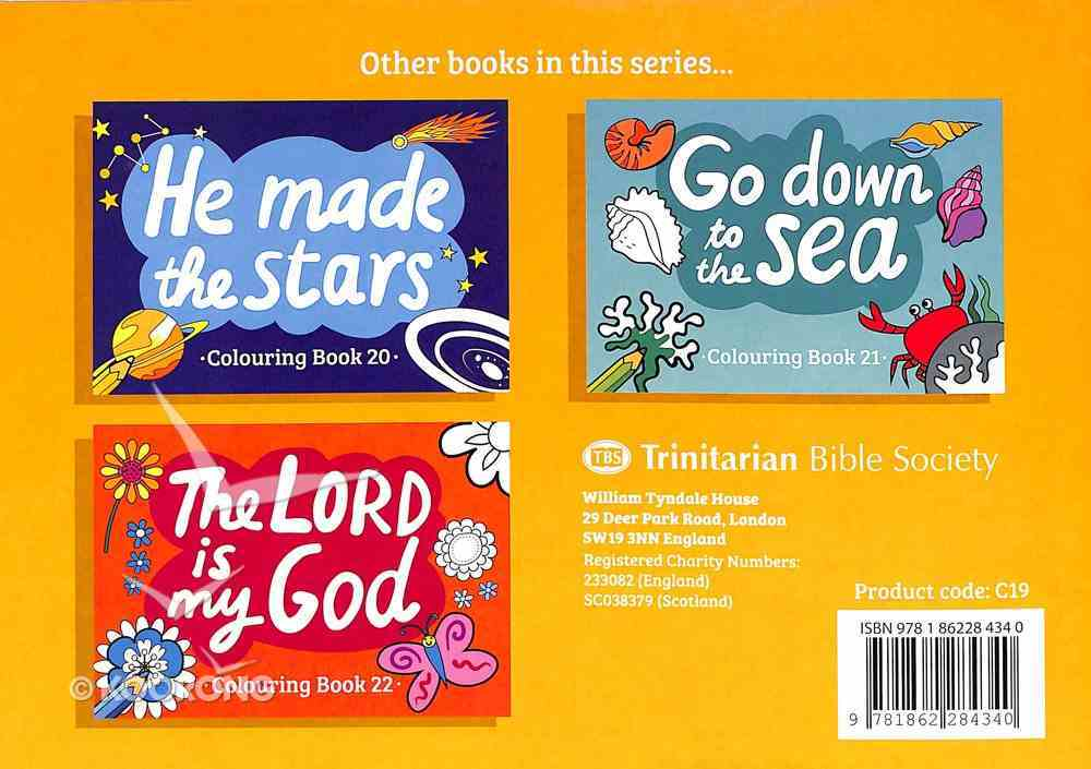 The Earth is the Lord's (#19 in Outline Texts For Colouring Series) Paperback