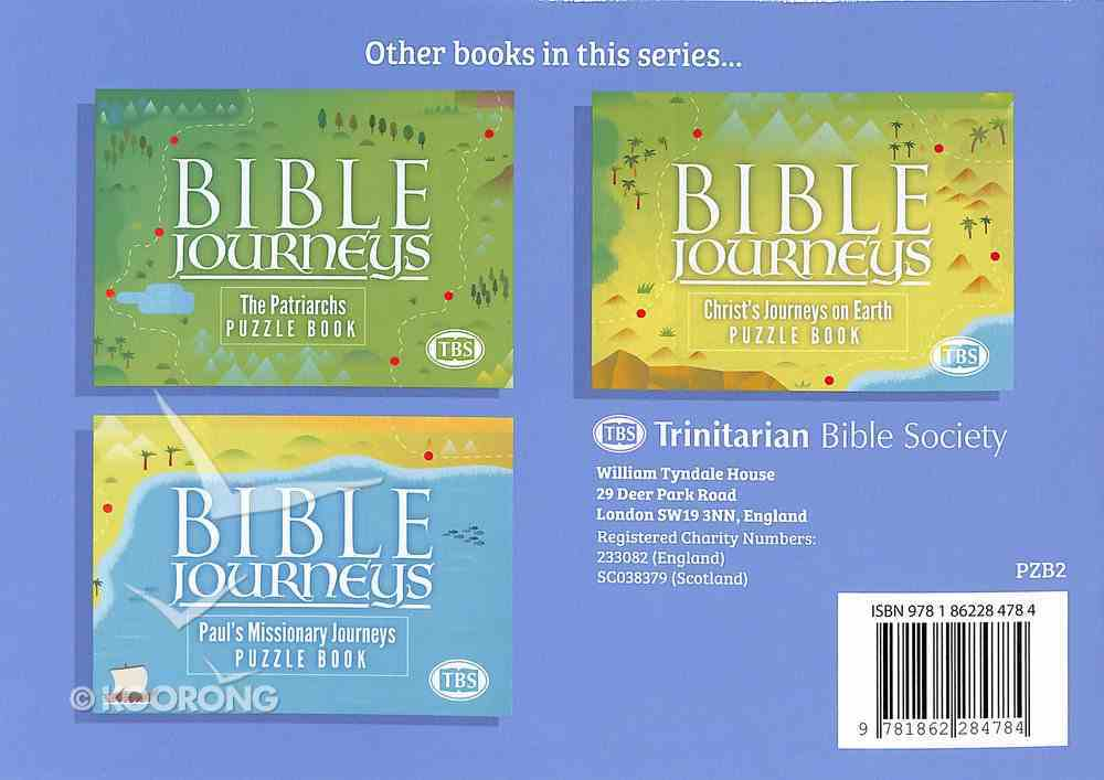 The Exodus (#02 in Bible Journeys Puzzle Book Series) Paperback