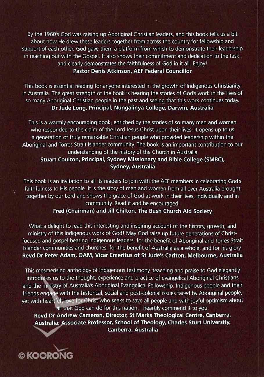 A Celebration of God's Faithfulness: Aef History, Testimonials, Indigenous Theology, Sermons and Bible Studies Paperback