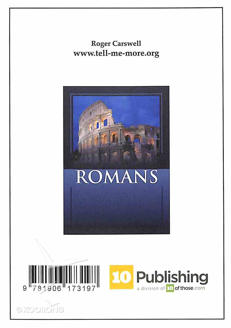 The NLT Book of Romans Paperback
