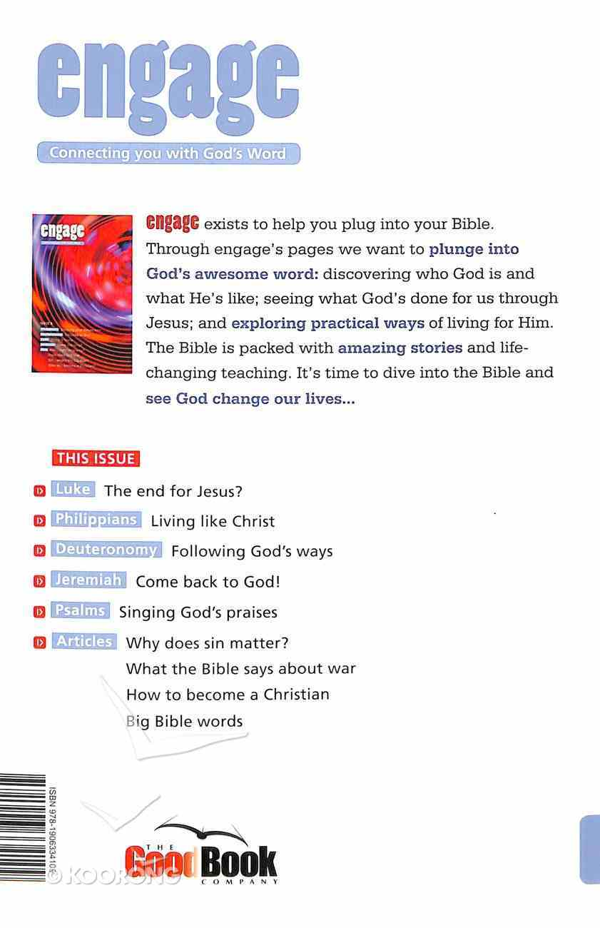 Philippians, Deuteronomy, Luke and Jeremiah (#08 in Engage Series) Paperback