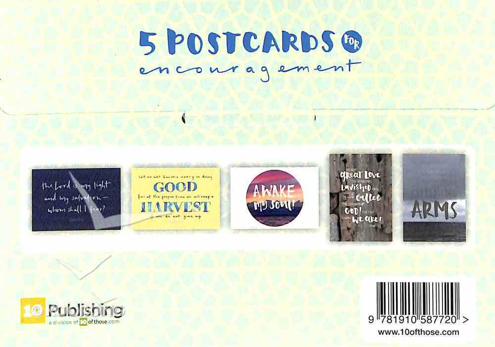 Postcards of Encouragement (Pack Of 5 A6) Pack